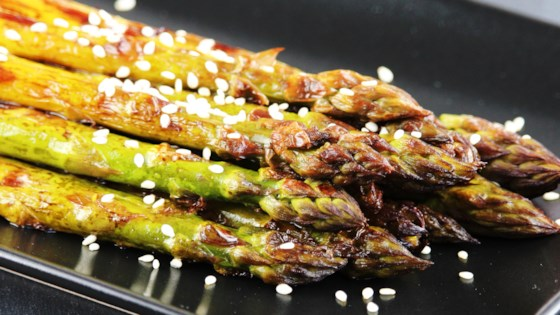 Photo of Tasty Barbecued Asparagus by chefgurl01