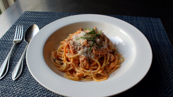 Photo of Chef John's Chicken Spaghetti by Chef John