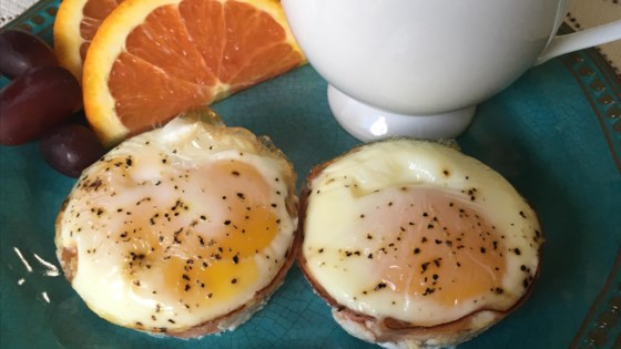 Breakfast Ham and Egg Cups Recipe