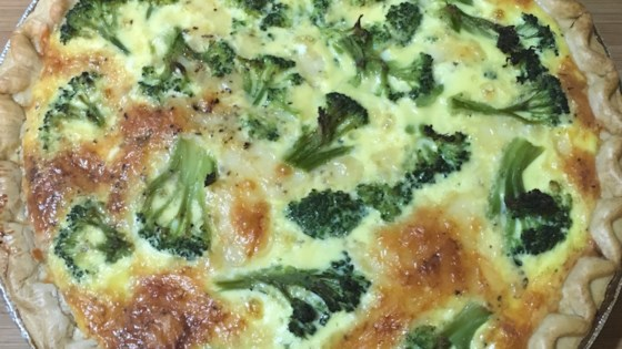 Photo of Ham and Broccoli Quiche with Swiss Cheese by myvallie