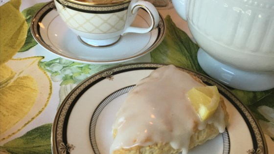 Photo of 3-Ingredient Lemon Scones by purplepiscean