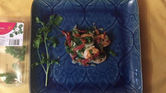 Photo of Cilantro and Parsley Shrimp by Stacey