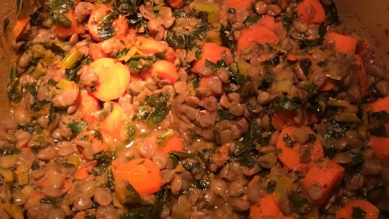 Photo of Carrots and Lentils by Ellen Janet Nestler