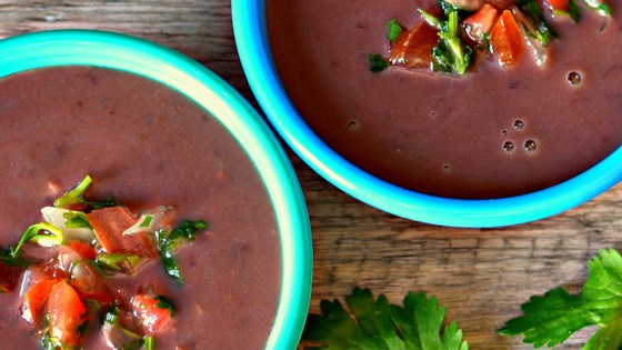 Photo of Black Bean and Salsa Soup by Maryanne