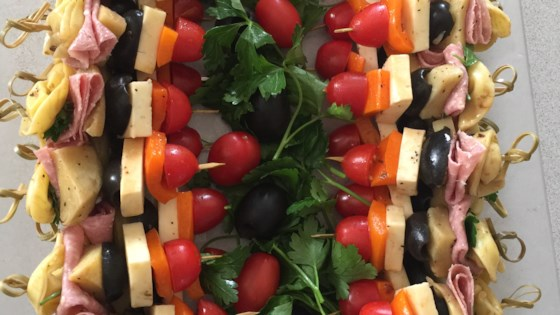 Photo of Pasta Salad on a Stick by Lindsey