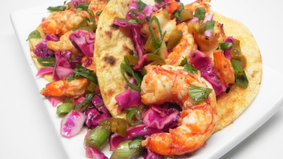 Photo of Grilled Spicy Shrimp Tacos  by Robin Wells