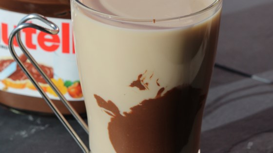 Photo of Iced Almond Milk Nutella® Latte by Tyler