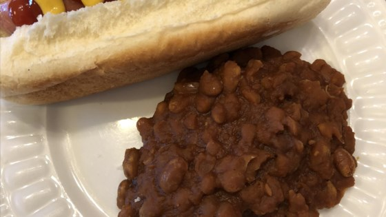 Photo of Vegetarian Slow Cooker Baked Beans by Meg