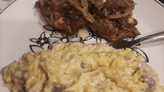 Photo of Creamy Mushroom Spaghetti Squash by luv2cook
