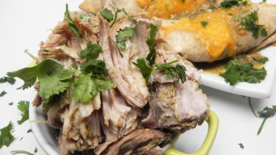 Photo of Tomatillo Pork Roast by charm