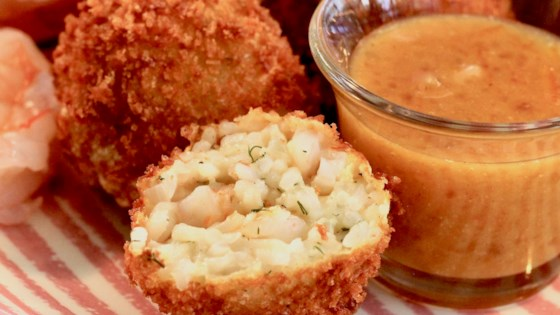 Photo of Deep-Fried Prawn and Rice Croquettes by ZAYO