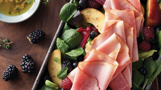 Photo of Boar's Head Bold® BourbonRidge™ Uncured Smoked Ham Summer Salad by Boar's Head