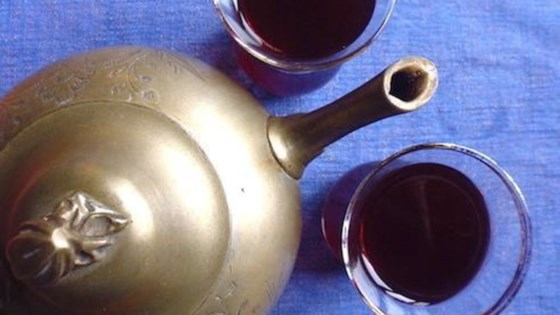 Photo of Karkadeh (Egyptian Hibiscus Iced Tea) by Afiyet_olson