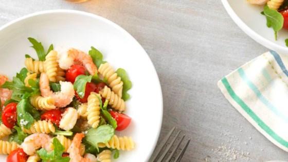 Photo of Weeknight Shrimp and Arugula Rotini with Ready Pasta by Barilla Canada