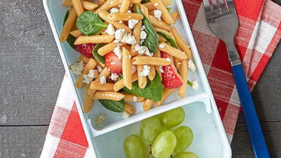 Photo of Strawberry and Spinach Balsamic Pasta Salad by Barilla Canada