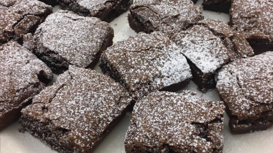 Photo of Dark Chocolate Passover Brownies by Lisa Katzoff
