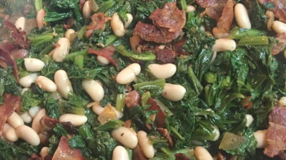 Photo of Mustard Greens 'n Beans by Fishnets
