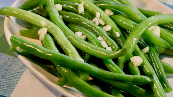 Photo of Deluxe Garlic Green Beans by Chelsey Carr