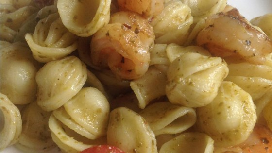 Photo of Orecchiette with Shrimp and Basil Pesto by Chef Approved Productions