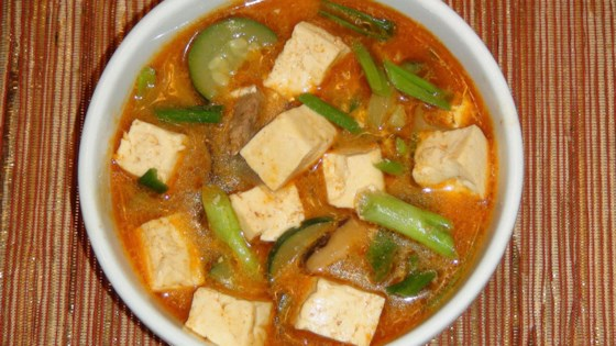 Photo of Korean Tofu and Vegetable Soup by slsonline