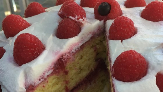 Photo of Low-Fat Lemon Raspberry Cake by tahoegirl