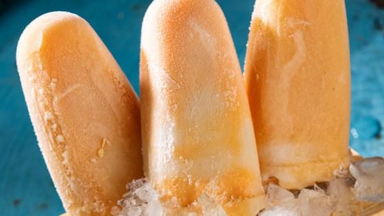 Photo of Orange Cream Pops by Almond Breeze
