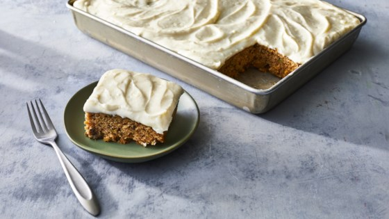 Photo of Zucchini Bars with Spice Frosting by Cindy Brempong