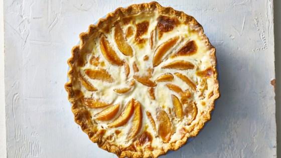 Photo of Creamy Peach Pie by Laria Tabul