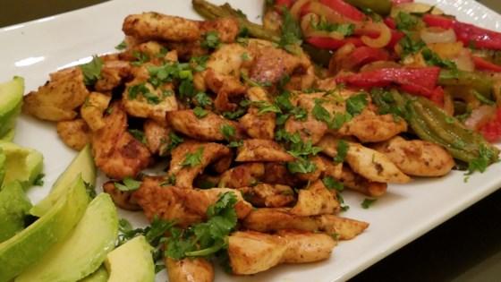 Photo of Sheet Pan Chicken Fajitas by themoodyfoodie