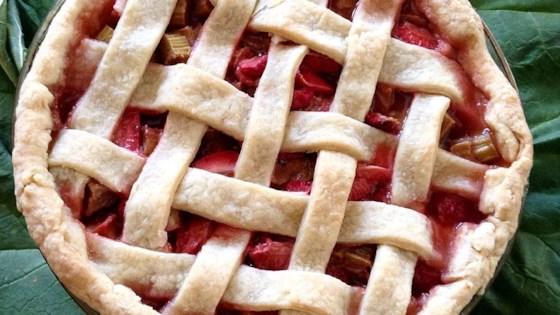 Photo of Renee's Strawberry Rhubarb Pie by Renee