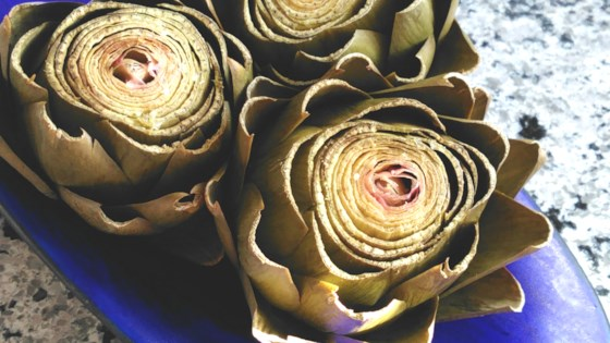 Photo of Instant Pot® Steamed Artichokes by Fioa