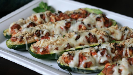 Photo of Mediterranean Stuffed Zucchini by Larry Short