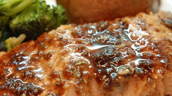 Photo of Balsamic-Glazed Salmon Fillets by ISYBEL