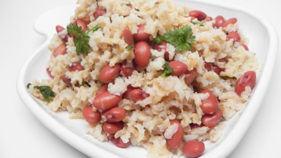 Photo of Cajun Meatless Red Beans and Brown Rice by cp024