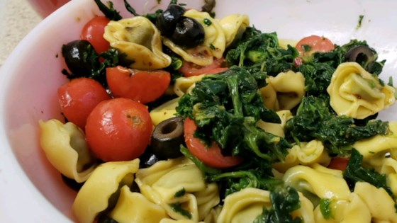 Photo of Spinach and Tortellini Salad by lvich