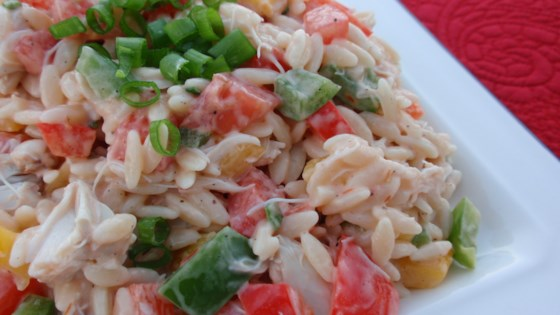 Photo of Crab and Orzo Salad by SWIZZLESTICKS