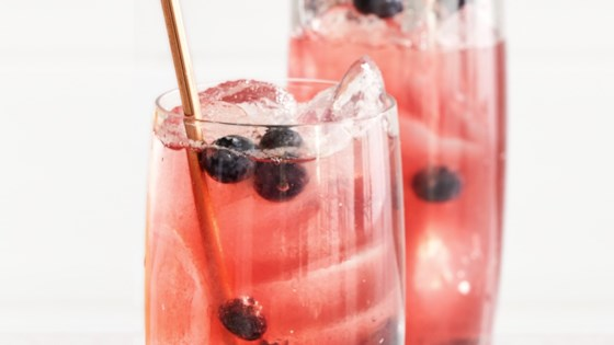 Photo of Blueberry-Bourbon Shrub by Betty Soup