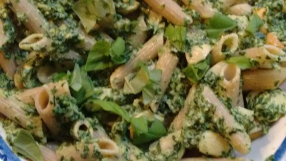Photo of Quick Vegetarian Pasta with Spinach and Boursin®  by Gina