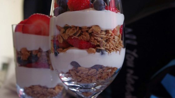 Photo of Summer Berry Parfait with Yogurt and Granola by Josie59
