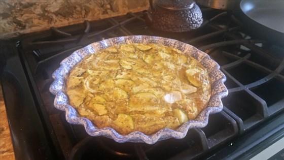 Baked Italian Egg, Zucchini, and Scallion Frittata Recipe
