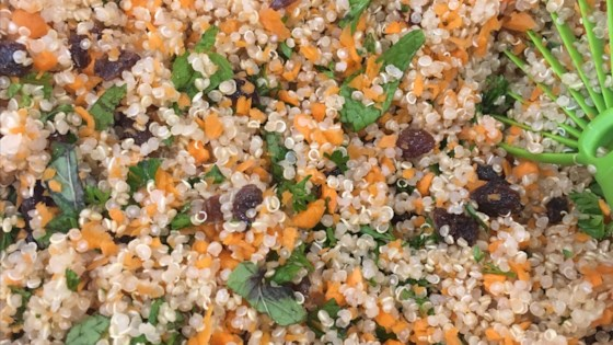 Photo of Quinoa Tabbouleh Salad (Gluten-Free) by LB