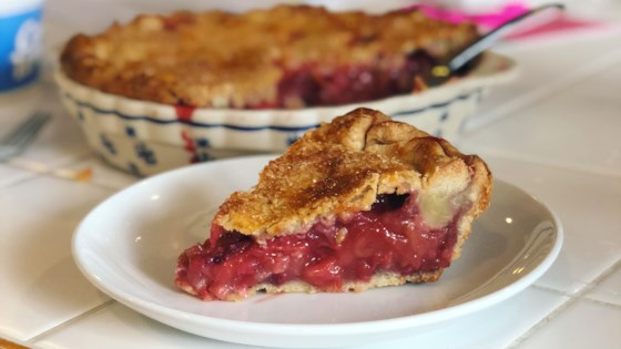 Photo of Rhubarb and Strawberry Pie by Terri