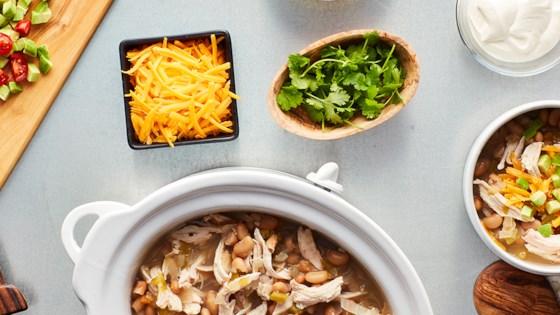 Hidden Valley Easy Slow Cooker White Chicken Chili Recipe