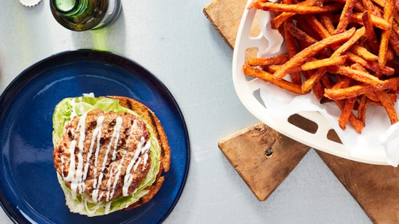 Photo of Grilled Turkey Burgers with Ranch Seasoning by Hidden Valley Ranch