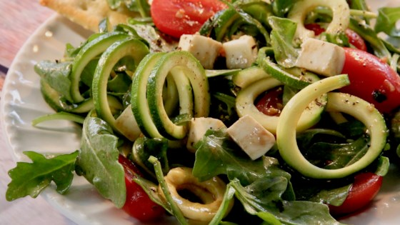 Photo of Zoodle Caprese Salad by Jeannette