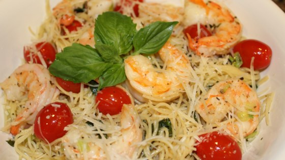 Photo of Baked Shrimp Scampi with Linguine by Paul Cote Jr.