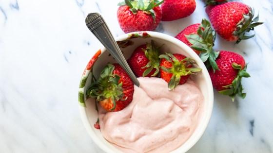 Photo of Strawberry Vegan Nice Cream by Mackenzie Schieck