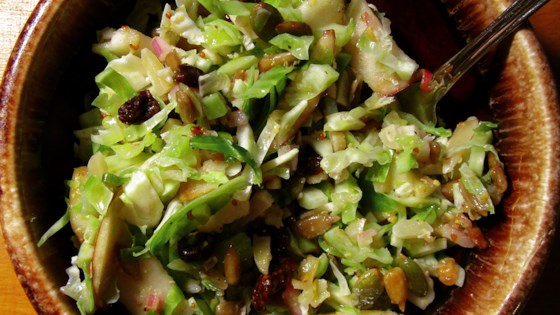 Photo of Chopped Brussels Sprout Salad by Ann Freele
