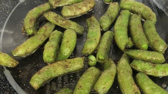 Photo of Cinnamon Sugar Snap Peas by eandjanda