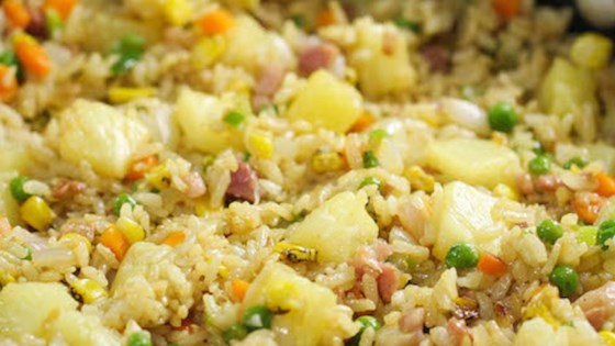 Photo of Pineapple Fried Rice with Ham by Misty Noelle